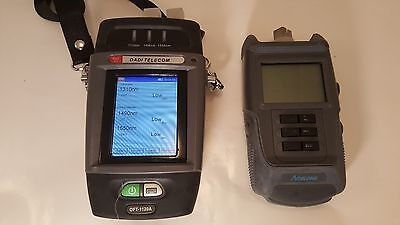 Aitelong SAT-4E + DADI  OFT-1120A PONOptical Power Meter used combo kit!