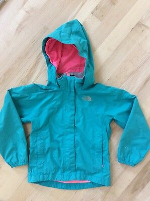 The North Face Hyvent Kids Jacket Green Pink Size XXS 5