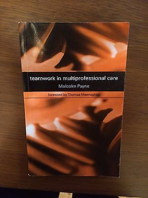Teamwork in Multiprofessional Care by Malcolm Payne Paperback Book