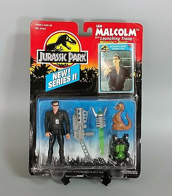 Vintage Jurassic Park Series 2 Ian Malcolm Complete w/ Original Packaging!
