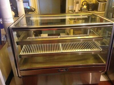 """Leader 48"""" Dry Bakery Display Case #CBK48 Gently Used (3yrs) Counter Height"""