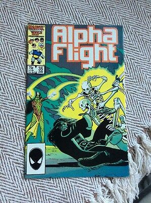 ALPHA FLIGHT Vol.1, #35 Boarded & Sleeved COMBINED POSTAGE OFFERED