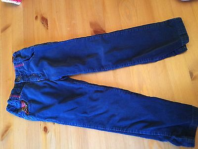 M&S Blue Cord Trousers 4-5yrs