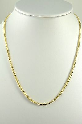 """18K Solid Gold Franco Chain 24"""" 2mm Thick"""