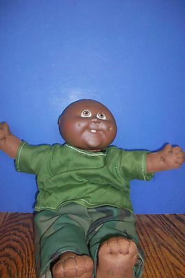 Vtg. 1984 Cabbage Patch Kids African American Black Baby Toothy Doll