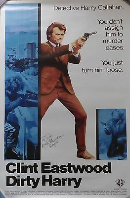Dirty Harry Reproduction 1-Sheet Poster Personally Signed By Andrew Robinson