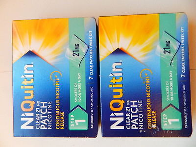 niquitin step 1, 21mg patches