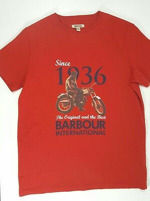 Barbour international boys t shirt age 14-15 years