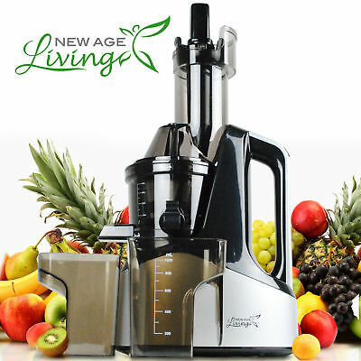 New Commercial Slow Juicer Masticating Cold Press Machine Fruit Vegetable X