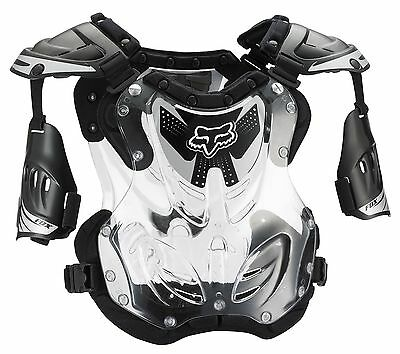 NEW Fox Racing R3 Roost Deflector Chest Protector Motocross Black SIZE MEDIUM