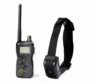1000M Rechargeable Waterproof LCD Remote Control Dog Training Shock Collar NEW