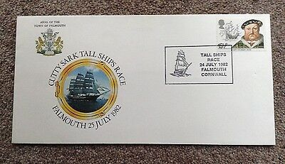 Cutty Sark Tall Ships Race, Falmouth 1982. Cover.