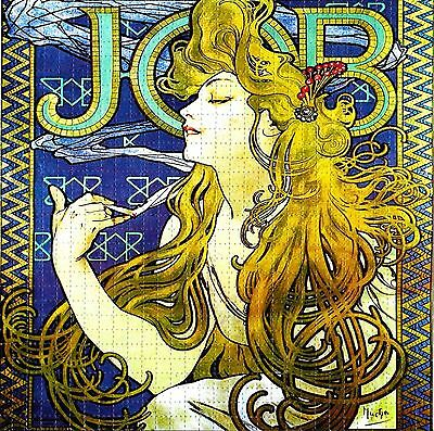 Job Rolling Papers Blotter Art Psychedelic Perforated Lsd Acid Free Paper