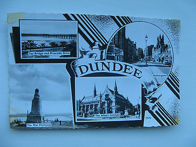 DUNDEE MULTI IMAGE REAL PHOTO CARD No. C2296 posted in 1962