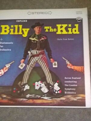 Copland Billy the Kid*-Ballet Suite/Statements For Orchestra lp