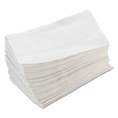 Morcon Paper Tall-Fold Napkins 1-Ply 7 x 13 1/2 White 250/Pack 32 Packs/Carton