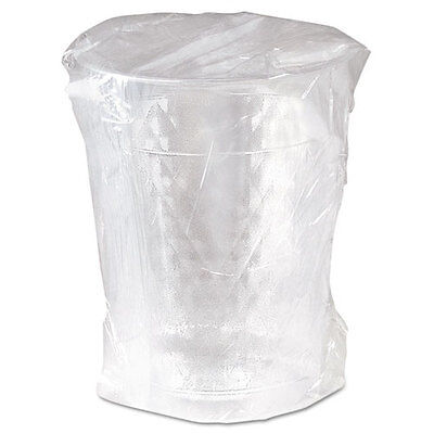 SOLO Diamond Tumbler Plastic Cups 10oz. Clear Individually Wrapped 25/Bag 20/CT