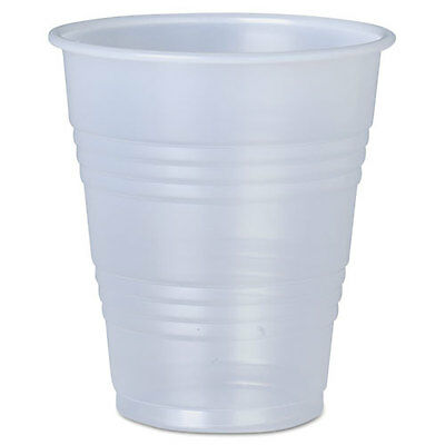 SOLO Galaxy Translucent Cups Cold 7 oz Plastic 20/Carton Y7LTDS