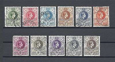SWAZILAND 1938 SG28/38A USED Cat £35