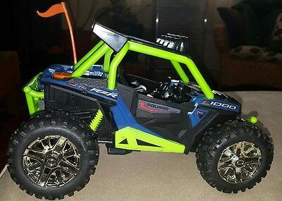 Road Rippers Off Road Rumbler Polaris RZR Blue Sounds and Driving Action