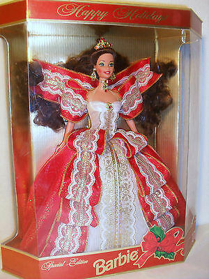 Happy Holidays Barbie, Special Edition, 1997, New In Box