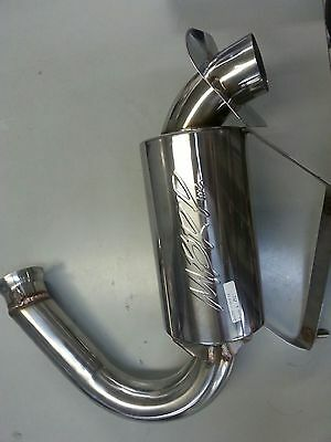 MBRP Snowmobile Exhaust Can