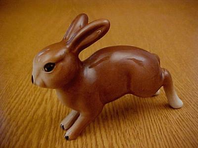 W.R. Midwinter Pottery Rabbit Figure - LEAPING HARE - Animal Figurine