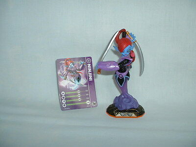 SKYLANDERS GIANTS Large NINJINI Game Action Figure Toy & Card S1 (ACTIVISION)