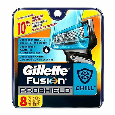 Gillette Fusion PROSHIELD  CHILL  Shaving Cartridges  X  32