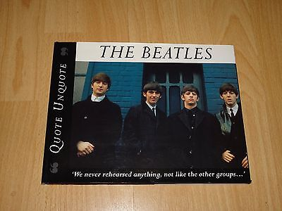 The Beatles: Quote, Unquote: Quote, Unquote by Parragon Plus (hardback)