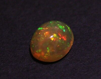 3.15ct Welo Crystal Opal Cabochon - Rainbow Ribbon AAA Jelly Opal - See Video