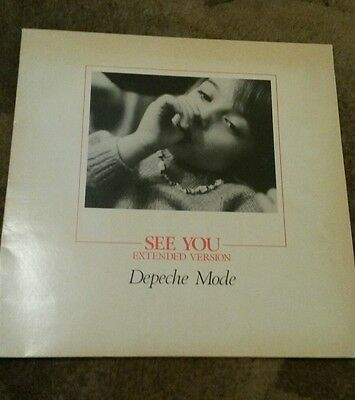 "Depeche Mode - See You Extended Version 12"" Single Vinyl Record"