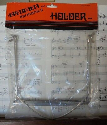 Harmonica Holder - allows you to play the Guitar AND blow - fits around the neck