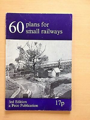 60 Plans For Small Railways 3rd Edition