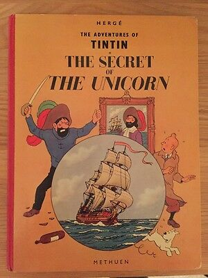 Tintin The Secret Of The Unicorn, First Edition