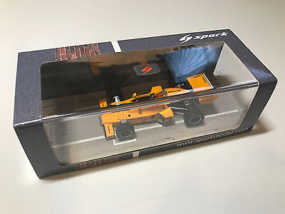 McLaren M16C #3 Johnny Rutherford Winner Indy 500 1974 Spark 43IN74 1/43