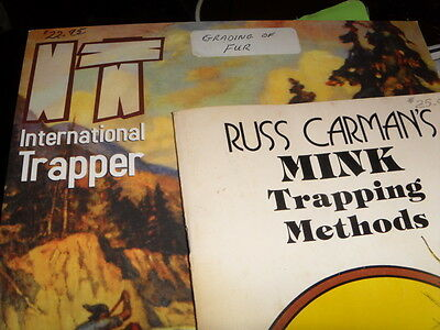 Russ Carman Mink Trapping Methods&2003 Int. Trapper Se