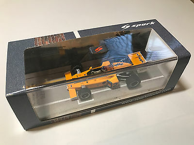 Spark 43IN76 McLaren M16C Winner Indy 500 1976 - Johnny Rutherford 1/43 Scale