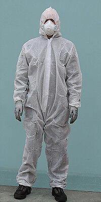 ATS DCPP Blue 100% Polypropylene Disposable Coverall Size XXL New Box of 50