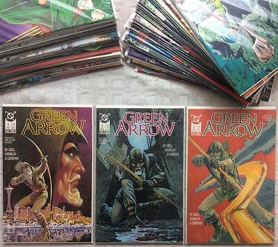 Green Arrow X 53 issues first series between #1 - #68 + 4 X Annuals (1987 DC)