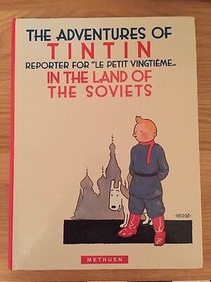 Tintin In The Land Of The Soviets, First Edition