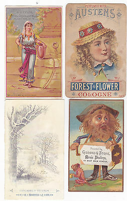 lot of victorian trade cards 4