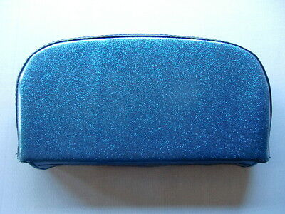 Blue Metalflake Scooter Back Rest Cover (Purse Style)