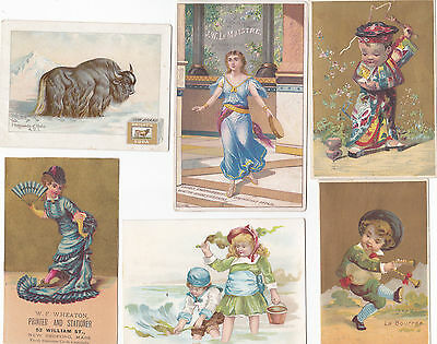 lot of victorian trade cards 6