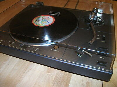 SANYO TP1100 D/D Turntable. Full Metal Body. Heavy Duty Construction See Photos