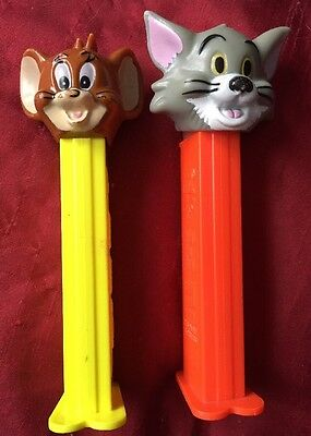 Collectible Tom and Jerry Pez Dispensers w/feet