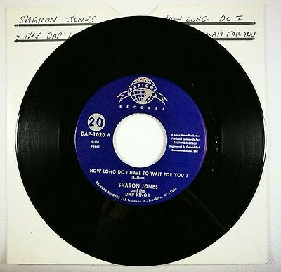 Northern Soul - Sharon Jones - how long do i have to wait for you