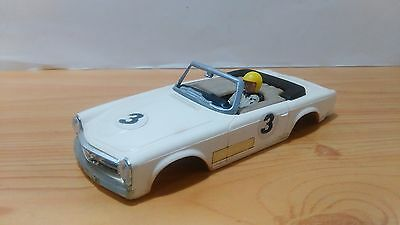 Slot 1:32 Triang Scalextric Exin Mercedes 250 Sl Sport C-32 Body Carroceria