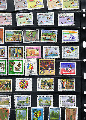 Stamps of Dominican Republic, 80-90's MNH.