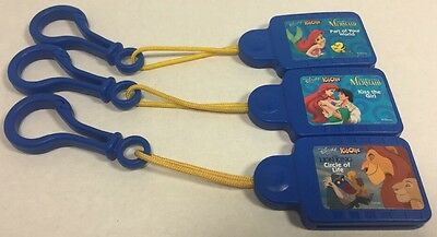 (3) DISNEY KID CLIPS Little MERMAID Part Of Your World, Kiss The Girl,Lion King